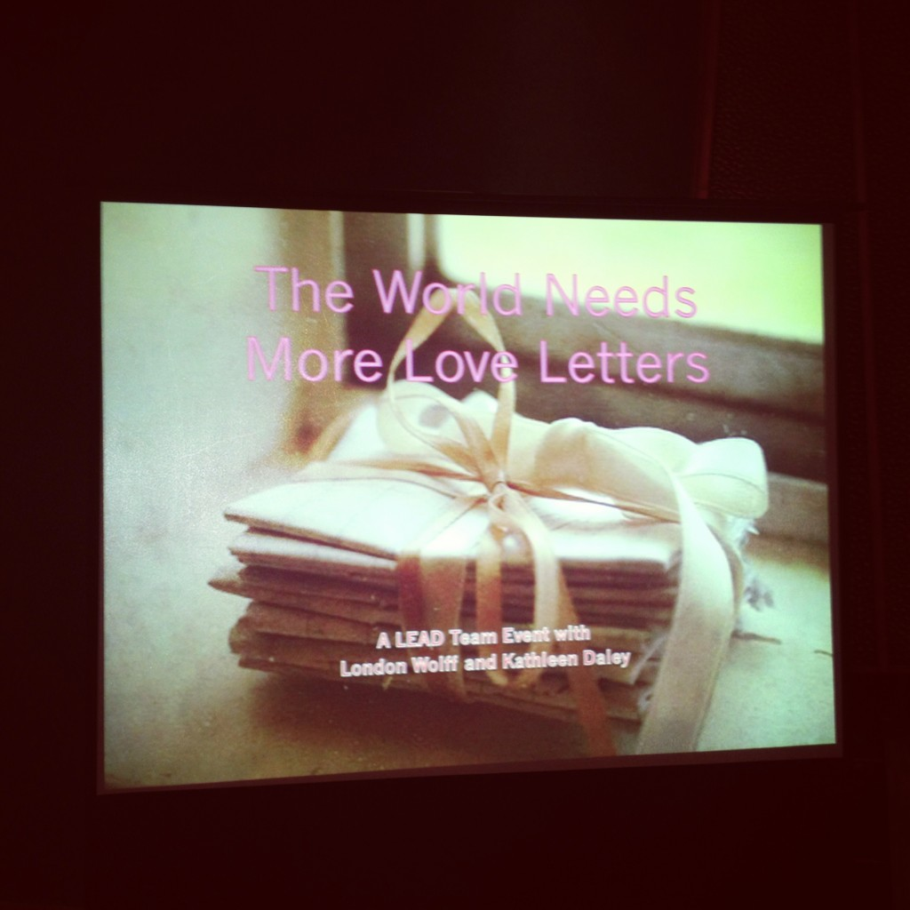 The World Needs More Love Letters • Healthy Helper