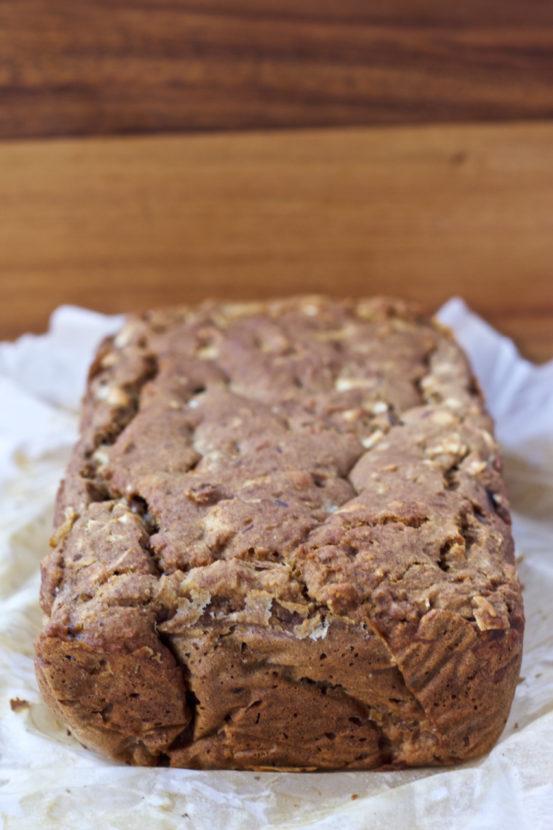 Nutty Apple Crunch Loaf | Healthy Helper @Healthy_Helper