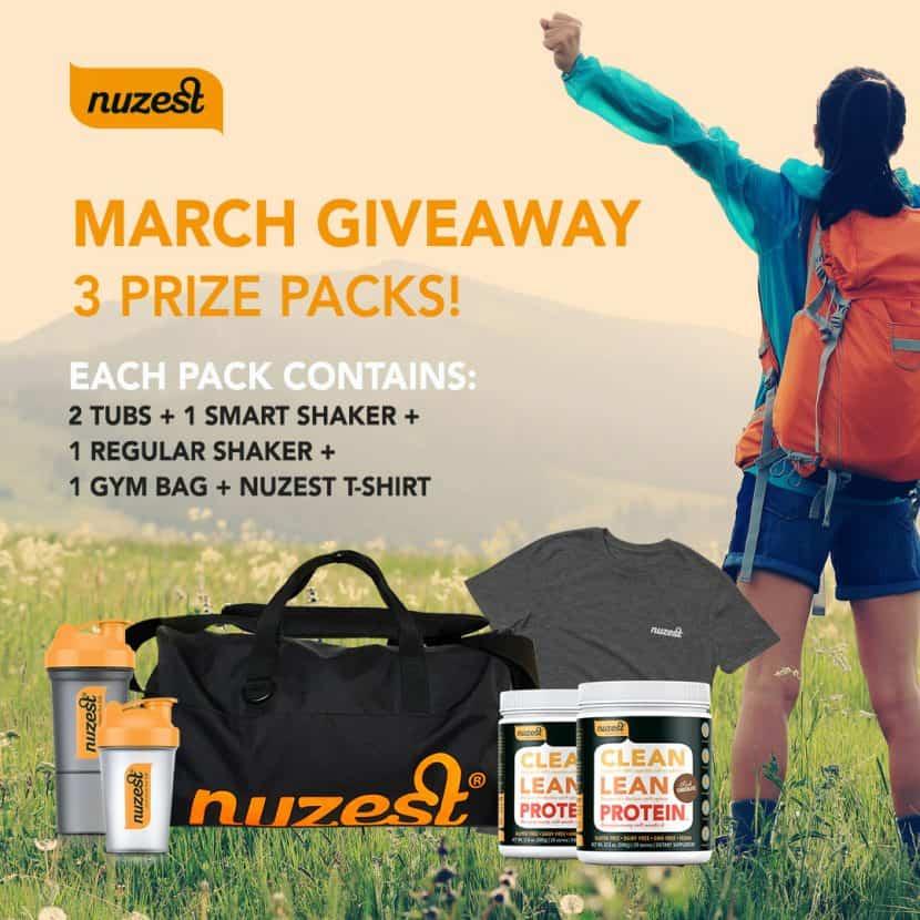 Nuzest March Giveaway   Healthy Helper @Healthy_Helper