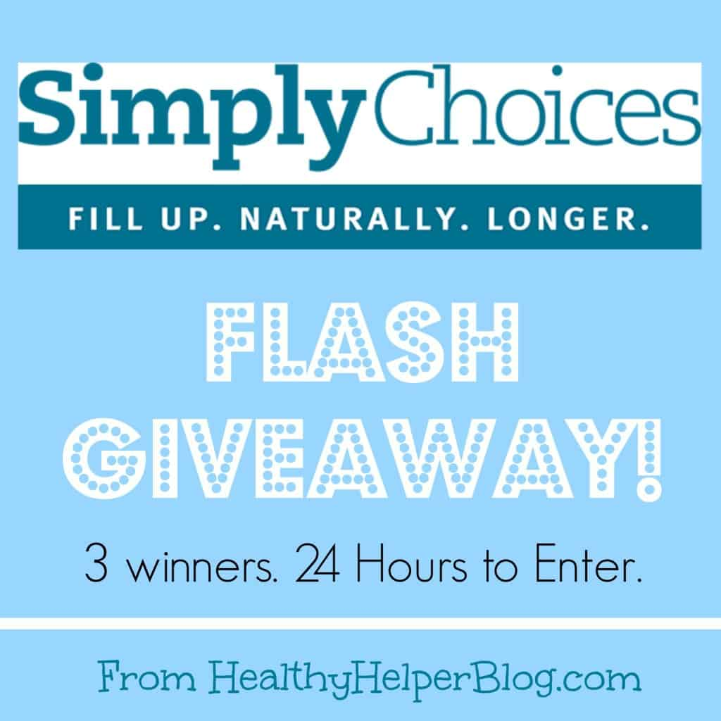 Simply Choices FLASH Giveaway!