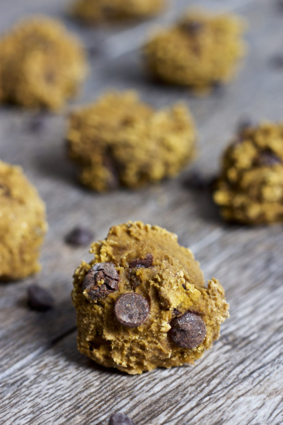 Vegan Chunky Monkey Cookie Dough Bites | Healthy Helper @Healthy_Helper These delectable Chunky Monkey Cookie Dough Bites are everything you could want in a healthy treat! Vegan, gluten-free, nut-free, and FULL of chocolate goodness. They also are refined sugar free and perfect for snacking on the go!