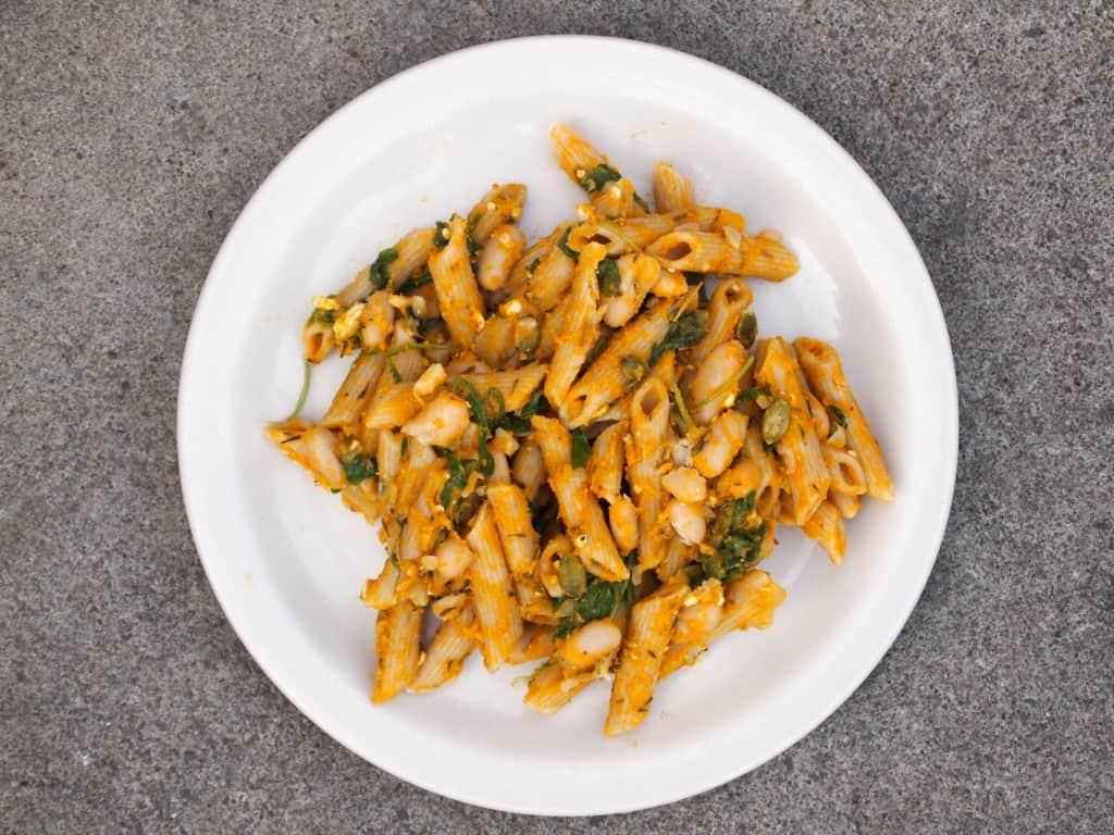 WI(Made)W: Savory Pumpkin Pasta