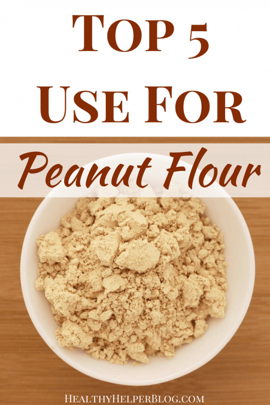 Top 5 Uses for Peanut Flour | Healthy Helper @Healthy_Helper A fun guide to using peanut flour...one of the most popular health foods on the market today! Get creative with these unique suggestions for incorporating this high protein ingredient into your everyday life.
