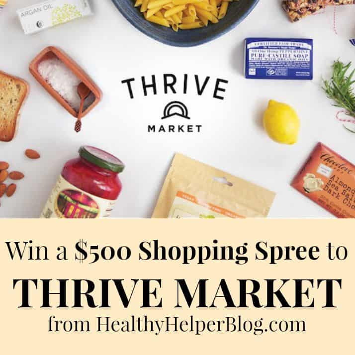 $500 Thrive Market Giveaway