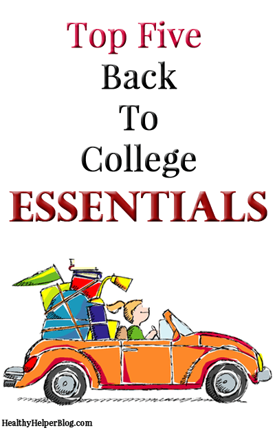 Top Five Back to College Essentials