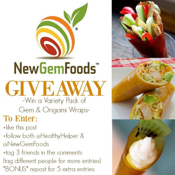 New Gem Foods Giveaway from HealthyHelperBlog.com