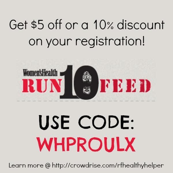 RUN 10 FEED 10 Discount Code