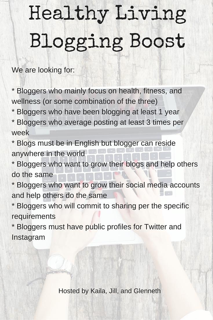 Healthy Living Blogging Boost Facebook Group
