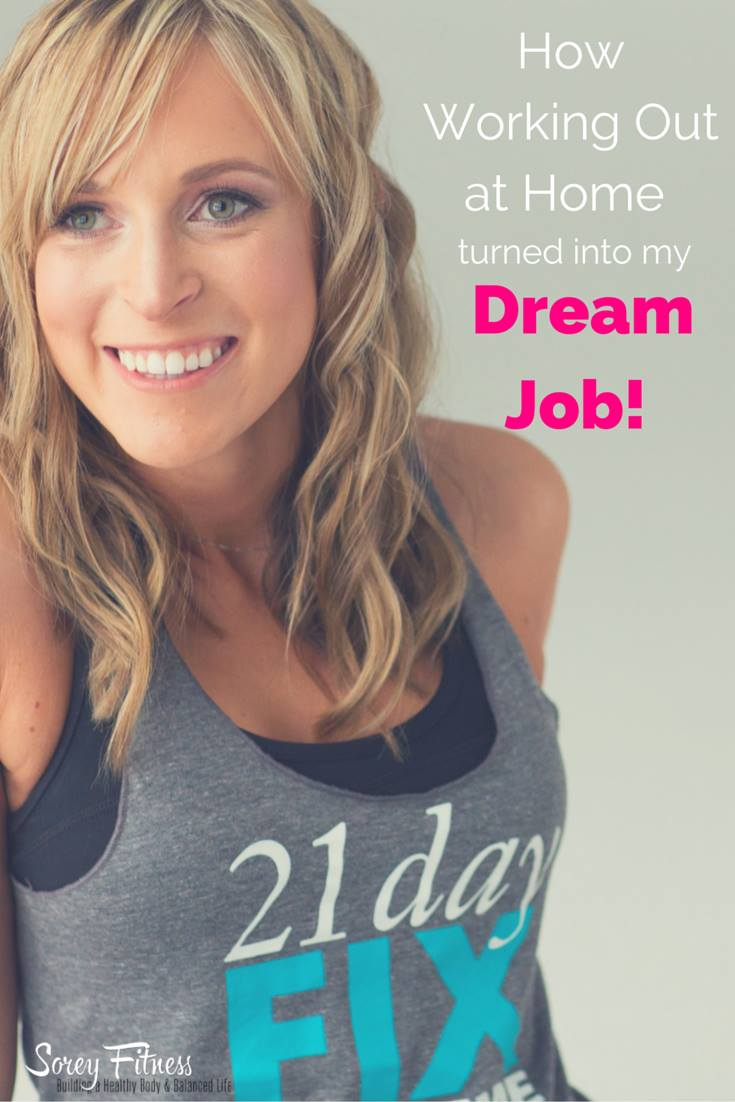 How Working Out At Home Turned into my Dream Job from Healthy Helper...Your passion can turn into your dream job when you follow your heart and make smart business decisions!