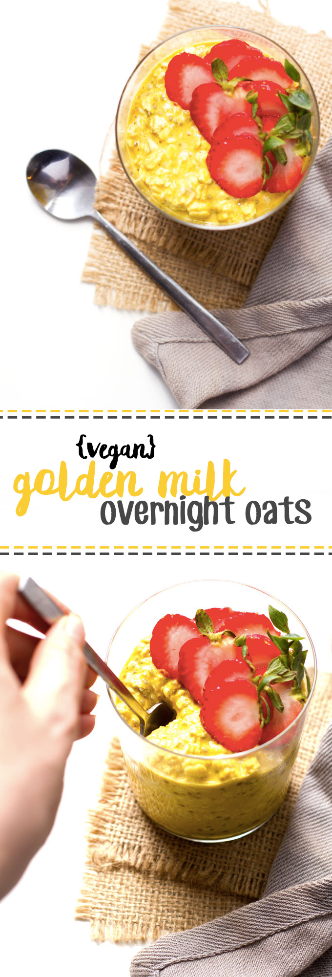 golden milk overnight oats vegan gluten free healthy helper. Black Bedroom Furniture Sets. Home Design Ideas