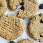 Blueberry Cashew Breakfast Cookies
