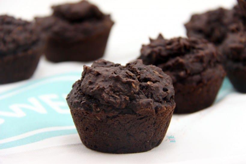 Double Chocolate Zucchini Power Muffins