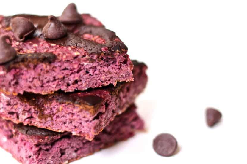 Dark Chocolate Raspberry Bars
