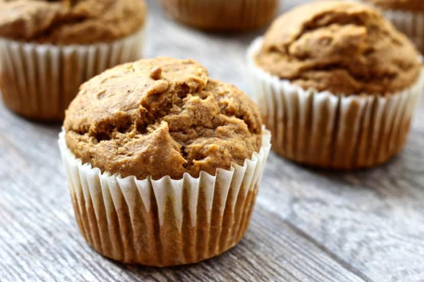 Vegan Gluten-Free Pumpkin Spice Cupcakes | Healthy Helper @Healthy_Helper