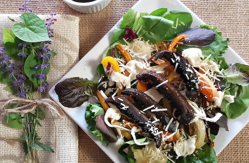 Portobella Mushroom Salad