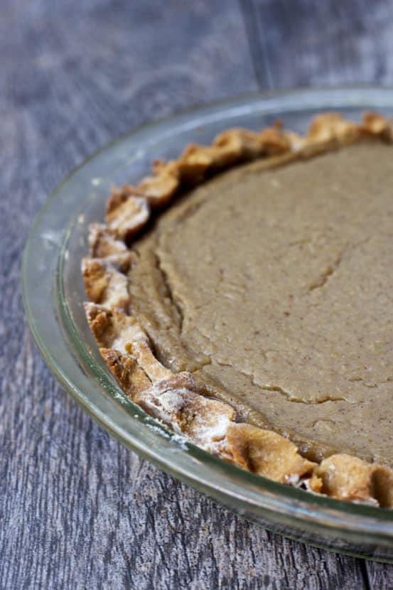 Vegan Pear Parsnip Pie | Healthy Helper @Healthy_Helper