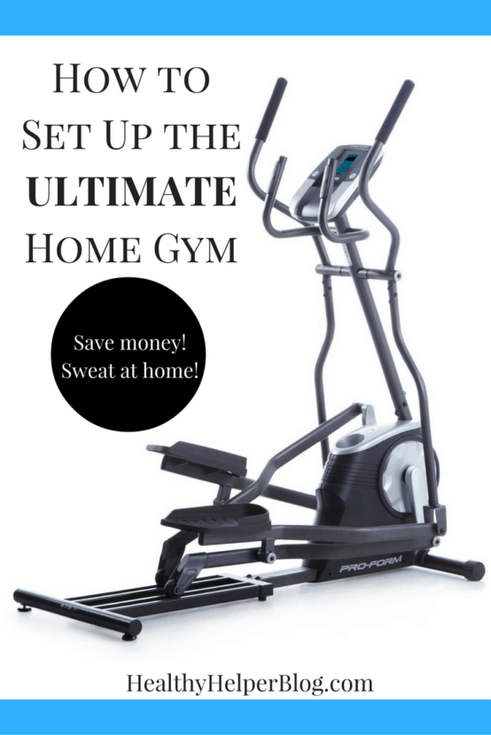 How to Set Up the ULTIMATE Home Gym | Healthy Helper @Healthy_Helper An easy-to-follow, informative guide to building your own home gym! Tips and tricks for staying fit at home on a budget.