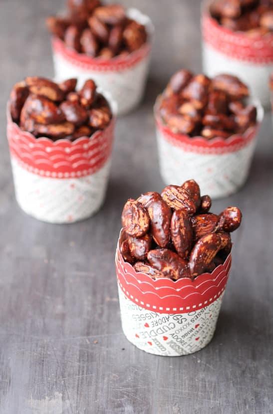 Cocoa Roasted Almonds | Healthy Helper @Healthy_Helper
