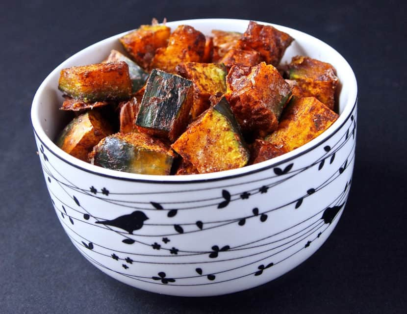 Oil-Free Roasted Kabocha | Healthy Helper @Healthy_Helper