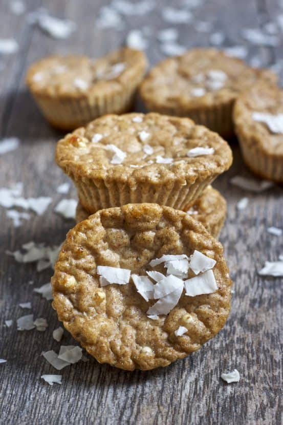 Coconut Gingerbread Protein Muffins | Healthy Helper @Healthy_Helper