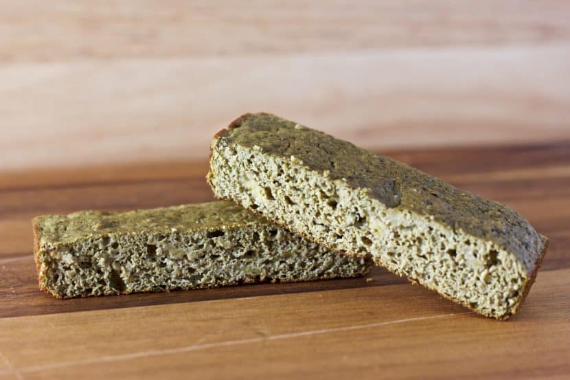 Vanilla Matcha Banana Bread Bars | Healthy Helper @Healthy_Helper