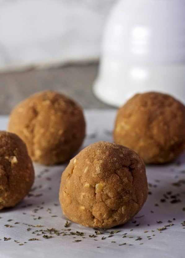 Mocha Mint Protein Bites   Healthy Helper @Healthy_Helper