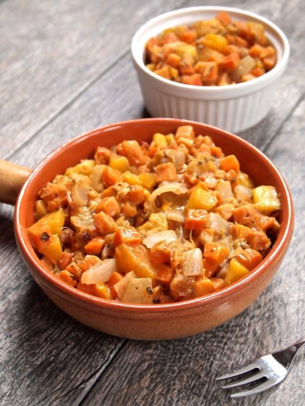 Fresh n' Fruit Sweet Potato Hash   Healthy Helper @Healthy_Helper