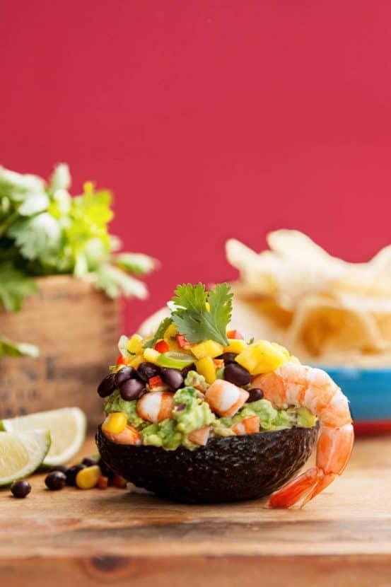 Gluten-Free Shrimp Taco Dip   Healthy Helper @Healthy_Helper