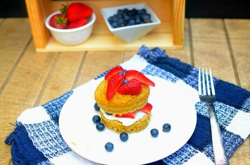 Strawberry Shortcake Mug Cake   Healthy Helper @Healthy_Helper
