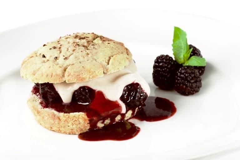 Blackberry Vegan Shortcakes with Cashew Cream   Healthy Helper @Healthy_Helper
