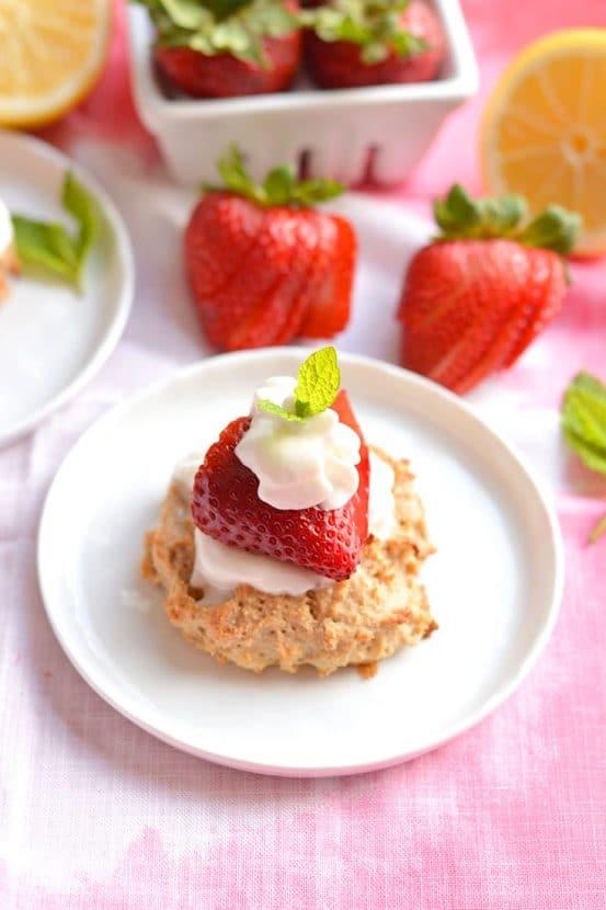 Skinny Strawberry Shortcake   Healthy Helper @Healthy_Helper