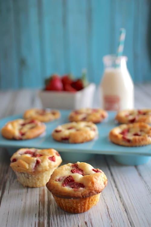 Strawberry Shortcake Muffins   Healthy Helper @Healthy_Helper