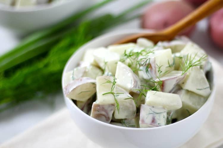 Herby Potato Salad   Healthy Helper @Healthy_Helper