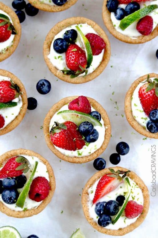 Easy Key Lime Cookie Cups | Healthy Helper @Healthy_Helper