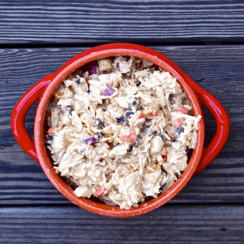 Coconut Curry Chicken Salad | Healthy Helper @Healthy_Helper