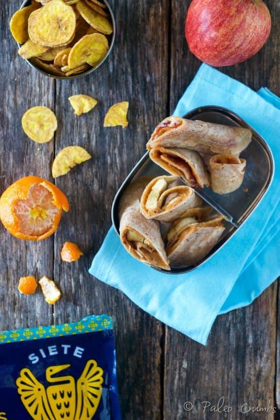 Grain Free Tortilla Pin Wheels | Healthy Helper @Healthy_Helper