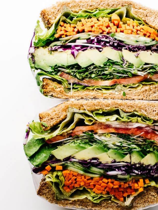 The Ultimate Veggie Sandwich   Healthy Helper @Healthy_Helper