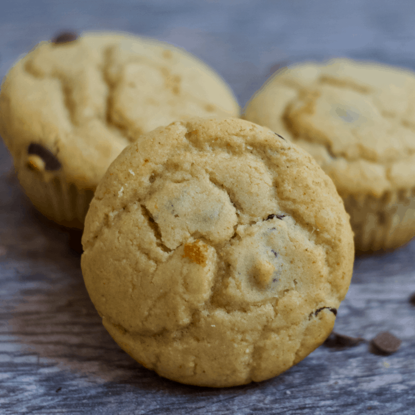 Chocolate Chip Pancake Muffins | Healthy Helper @Healthy_Helper Soft n' fluffy Chocolate Chip Pancake Muffins are the perfect grab n' go breakfast or snack that the whole family will love! Gluten-free, made from wholesome ingredients, and so easy to make. They're a delicious, healthy way to start your day!