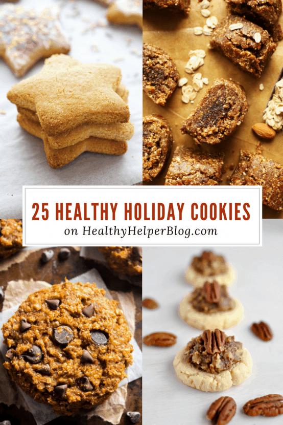25 Healthy Holiday Cookies Healthy Helper