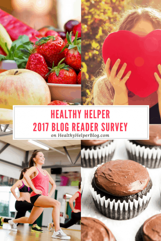 Healthy Helper 2017 Blog Reader Survey | Healthy Helper @Healthy_Helper An end of year reader survey to get feedback on the blog and gain insight on where it will go in 2018!
