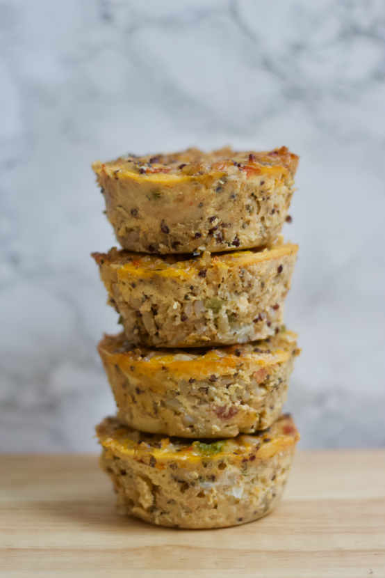 Savory Italian Quinoa Bites | Healthy Helper @Healthy_Helper These pizza-flavored snacks are full of whole grains and real food ingredients! Savory Italian Quinoa Bites will be your new favorite finger food for munching on between meals or serving as a tasty appetizer! Gluten-free, wholesome, and incredibly flavorful.