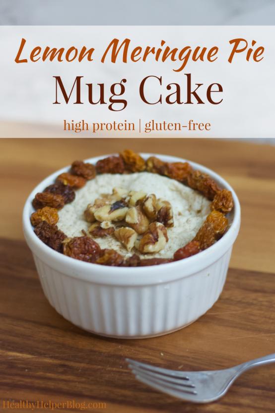Low Fat Chocolate Microwave Mug Cake