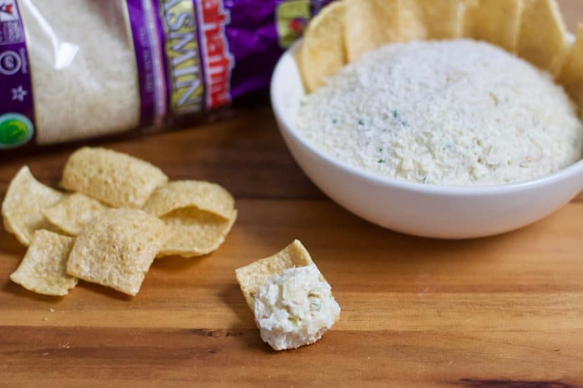 Thai Coconut Rice Dip   Healthy Helper @Healthy_Helper A fragrant and flavorful rice dip made with toasted coconut, rich sesame oil, green curry, and fresh spices. Savory, satisfying, and perfect for pairing with your favorite crudite or rice chips!