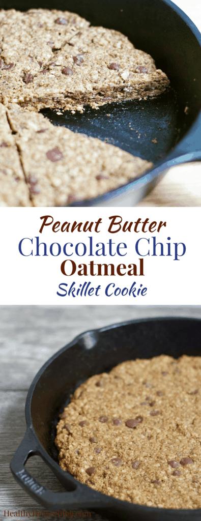 Ooey Gooey Skillet Chocolate Chip Cookie
