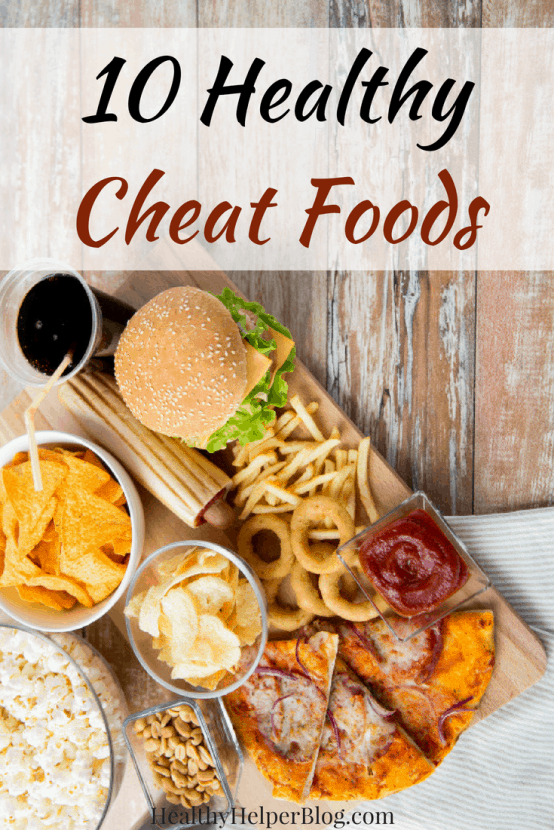 "10 HEALTHY Cheat Foods | Healthy Helper Cheat or ""treat"" foods don't have to ruin your diet or healthy eating lifestyle! These simple food swaps & hacks will allow you to enjoy all the flavor of your favorite snack foods with more nutritional benefits in each bite."