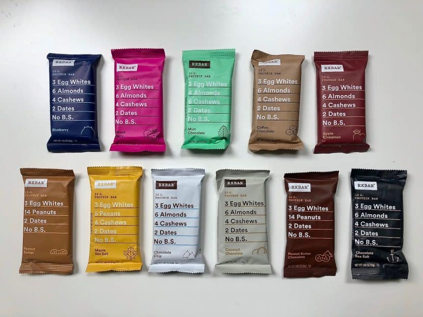 The Definitive Ranking of ALL RXBar Flavors | Healthy Helper The ultimate (and most definitive) ranking of RXBars. This roundup of every RXBar flavor is unquestionably accurate in rating each variety in terms of taste, texture, and overall satisfaction!Where does YOUR favorite stack up?!