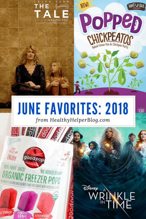 June Favorites: 2018 | Healthy Helper A roundup of my current favorite products, links, and things from around the web! Check out the list and find some new things to try for yourself.