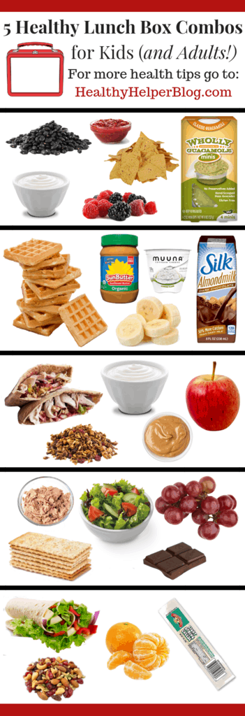 The Ultimate Guide to Packing Healthy Lunches for Kids (and Adults!) | Healthy Helper A handy guide featuring the crucial nutrient combination that is needed in every lunchbox to make you and your child's midday meal satisfying and nourishing. Plus some simple, yet delicious, food combinations that you can use during the school year (and for work!) to keep fueled during long, busy days.