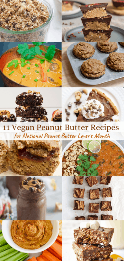 11 DELICIOUS Vegan Peanut Butter Recipes | Healthy Helper