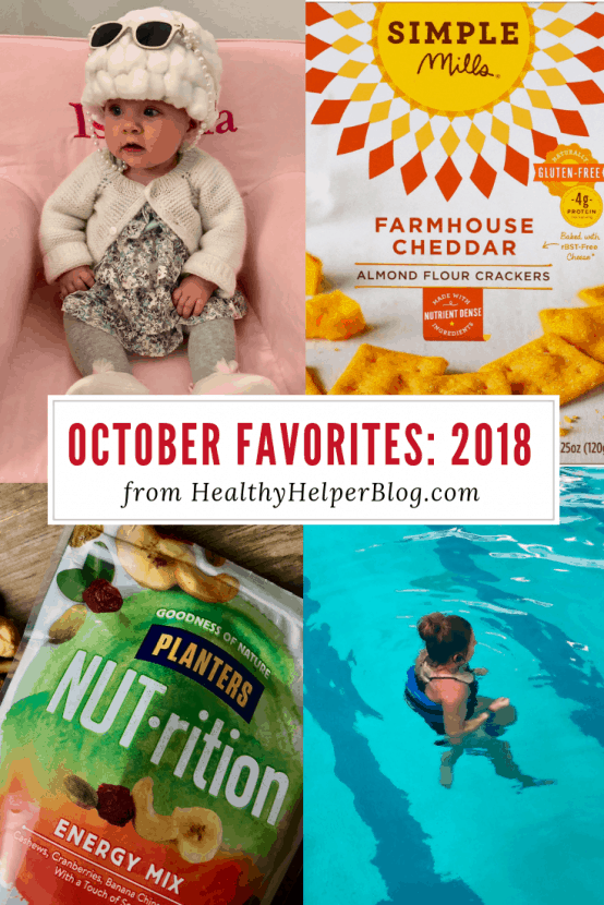 October Favorites: 2018 | Healthy Helper A roundup of my current favorite products, links, and things from around the web! Check out the list and find some new things to try for yourself.